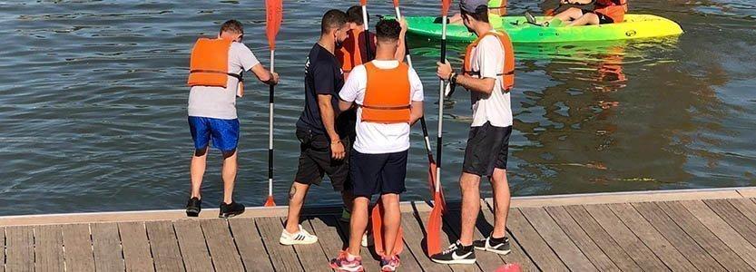 Actividad acuática con el Club Deportivo Triana